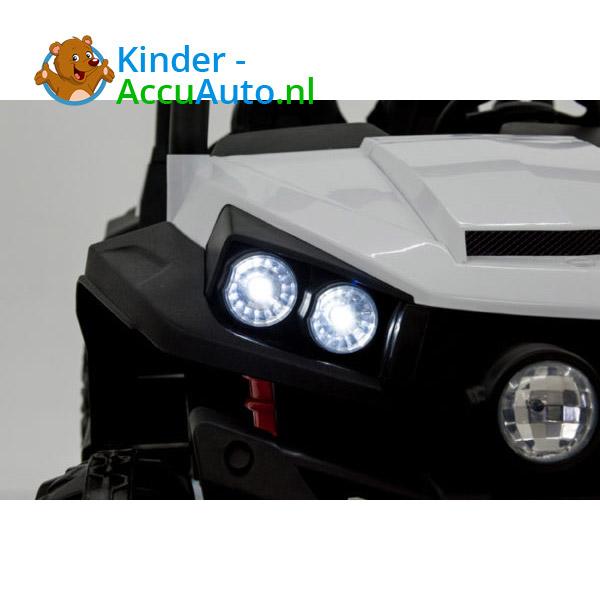 elektrische kinderauto beach buggy 4x4 wit 9
