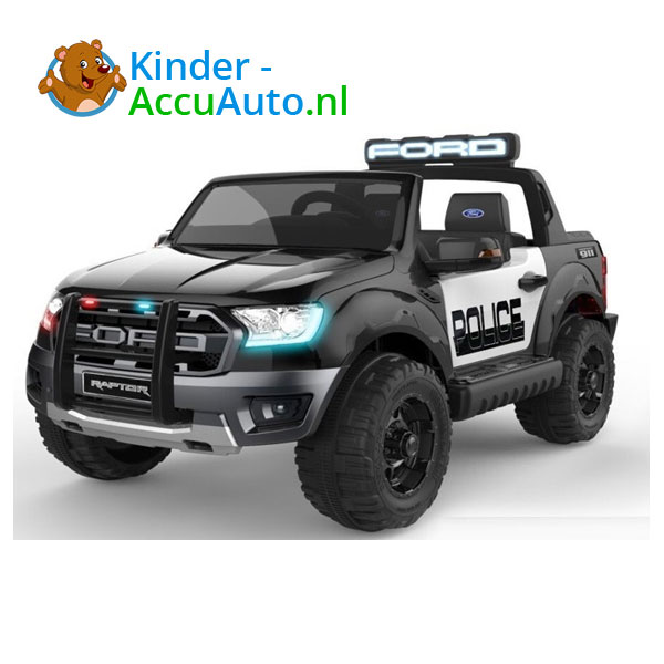 Ford Ranger Raptor F-150 Politie Kinderauto 1