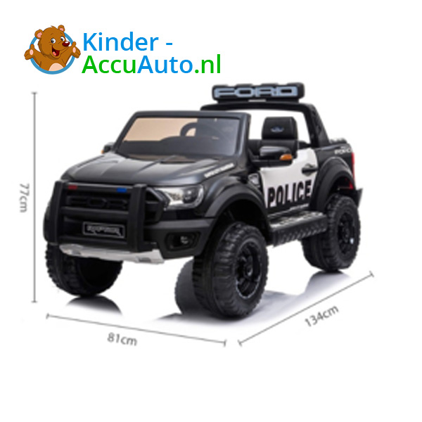 Ford Ranger Raptor F-150 Politie Kinderauto 8