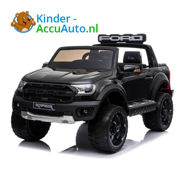Ford Ranger Raptor F-150 Zwart-Kinderauto 1