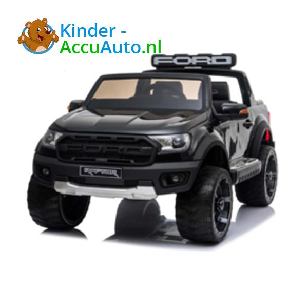 Ford Ranger Raptor F-150 Zwart-Kinderauto 3