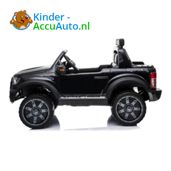 Ford Ranger Raptor F-150 Zwart-Kinderauto 4