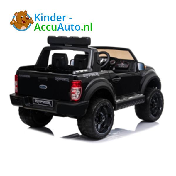 Ford Ranger Raptor F-150 Zwart-Kinderauto 6