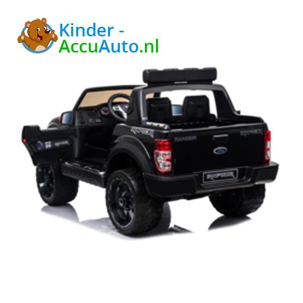 Ford Ranger Raptor F-150 Zwart-Kinderauto 9