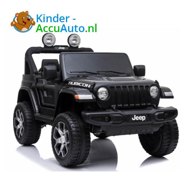 JEEP Wrangler Rubicon Zwart Kinderauto 1