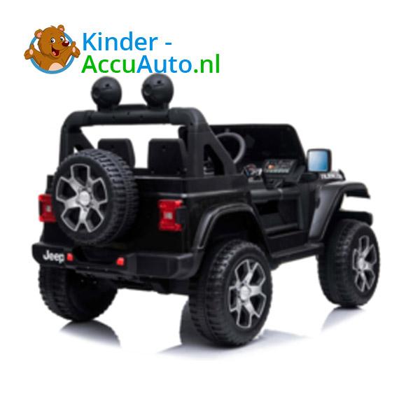 JEEP Wrangler Rubicon Zwart Kinderauto 2