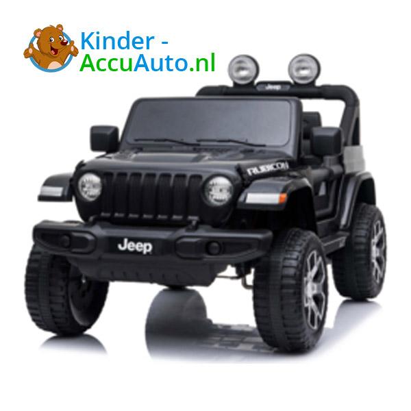 JEEP Wrangler Rubicon Zwart Kinderauto 3