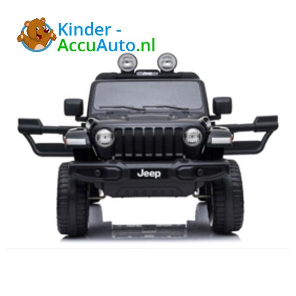 JEEP Wrangler Rubicon Zwart Kinderauto 4