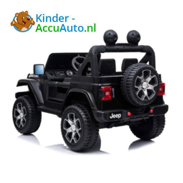 JEEP Wrangler Rubicon Zwart Kinderauto 5
