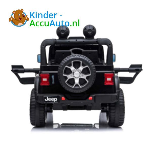 JEEP Wrangler Rubicon Zwart Kinderauto 8
