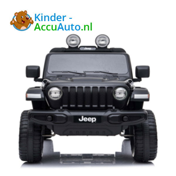 JEEP Wrangler Rubicon Zwart Kinderauto 9