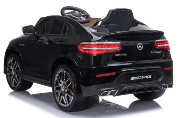 Kinderauto mercedes GLC 63S zwart 7