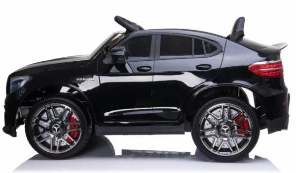 Kinderauto mercedes GLC 63S zwart 8