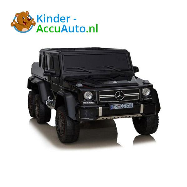Mercedes G63 6x6 Zwart Kinderauto 2