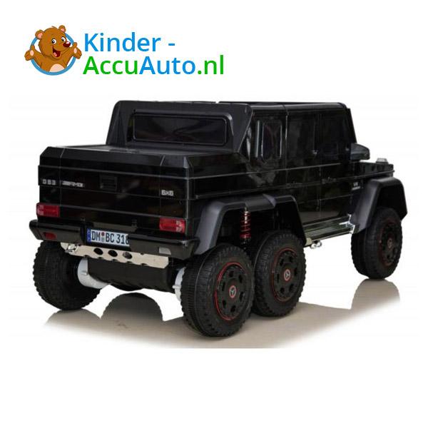 Mercedes G63 6x6 Zwart Kinderauto 3