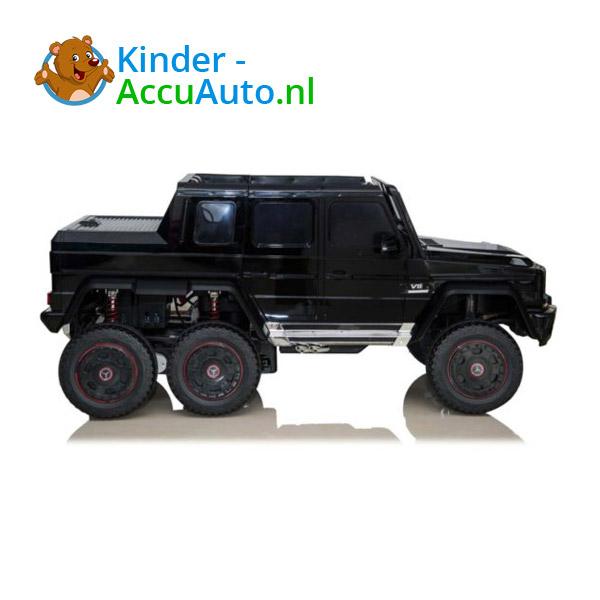 Mercedes G63 6x6 Zwart Kinderauto 4