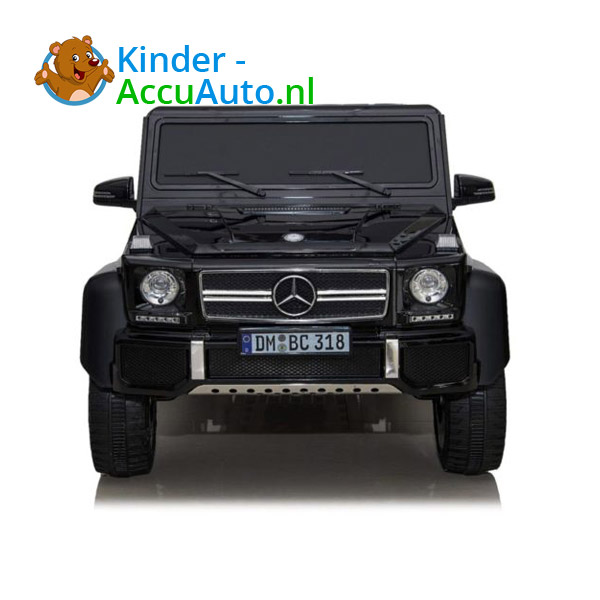Mercedes G63 6x6 Zwart Kinderauto 5