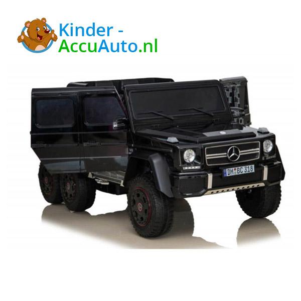 Mercedes G63 6x6 Zwart Kinderauto 7