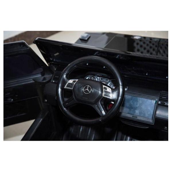 Mercedes G63 6x6 Zwart Kinderauto 8