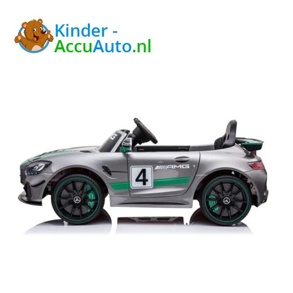 Mercedes GT4 Zilver Kinderauto AMG 2