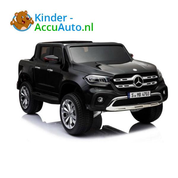 Mercedes X-class Zwart Kinderauto 2 persoons 4WD 1