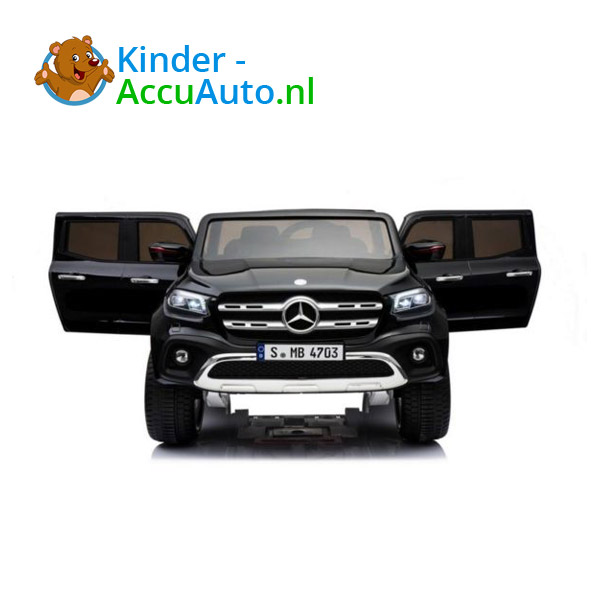 Mercedes X-class Zwart Kinderauto 2 persoons 4WD 3