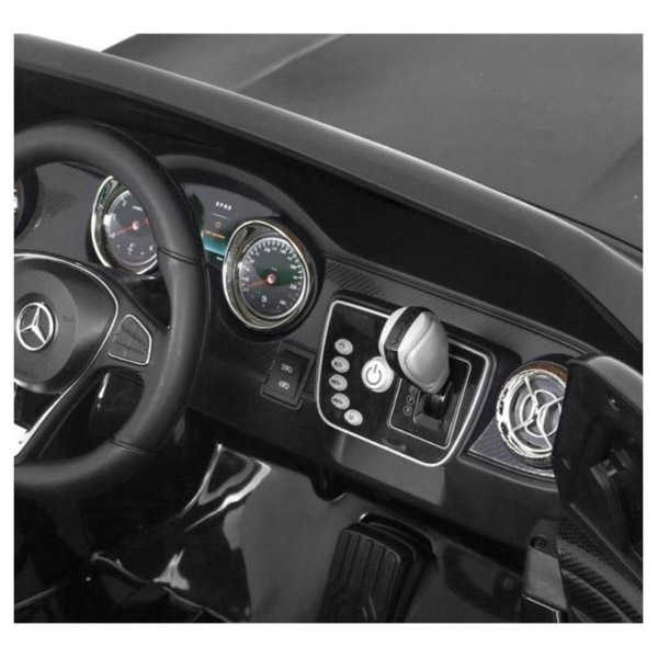 Mercedes X-class Zwart Kinderauto 2 persoons 4WD 8