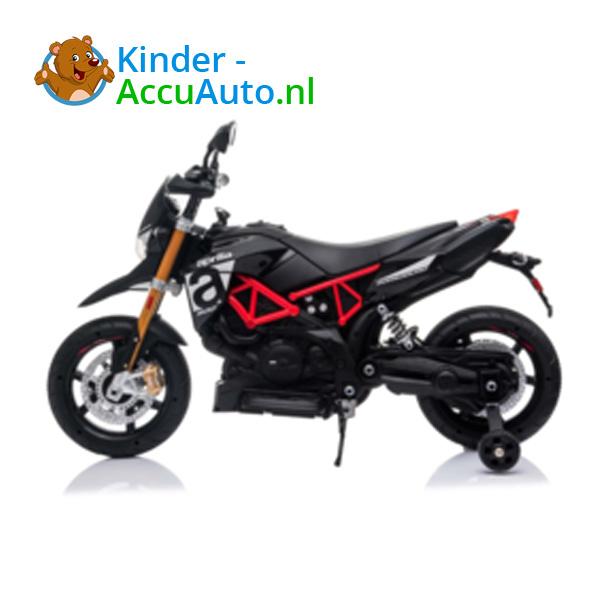 Aprilia Dorsaduro Zwart Kindermotor 2