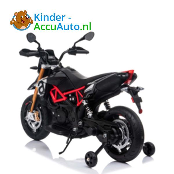 Aprilia Dorsaduro Zwart Kindermotor 3