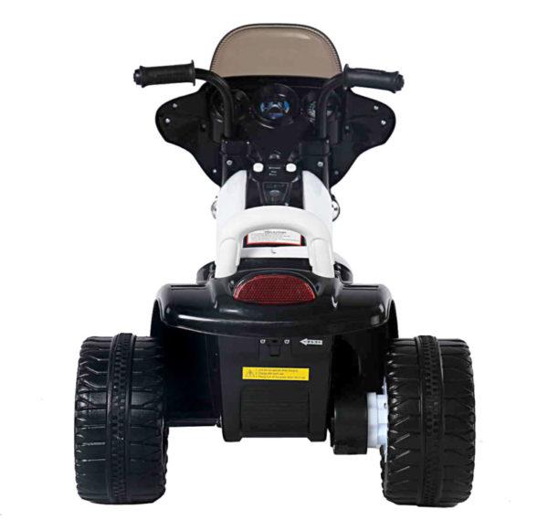 Elektrische politie kindermotor 6v zwart 5