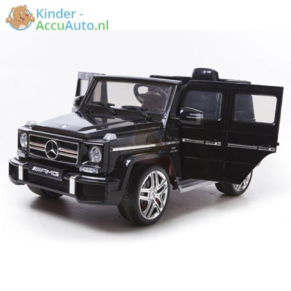 Kinder accu auto mercedes G63 amg zwart