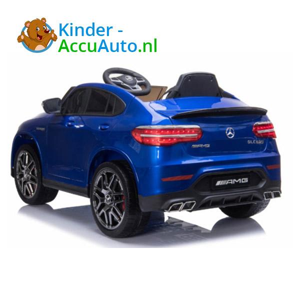 Kinderauto mercedes GLC 63S blauw 2