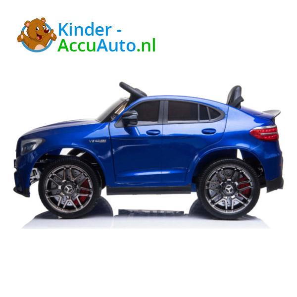 Kinderauto mercedes GLC 63S blauw 4