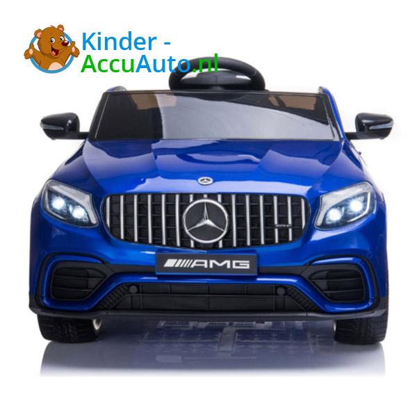 Kinderauto mercedes GLC 63S blauw 5