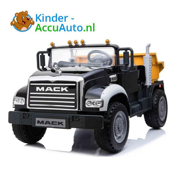 Mack Granite Zwart Kinder Vrachtwagen 1