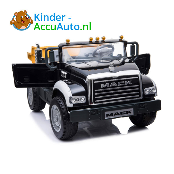 Mack Granite Zwart Kinder Vrachtwagen 2