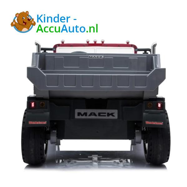 Mack Granite Zwart Kinder Vrachtwagen 6