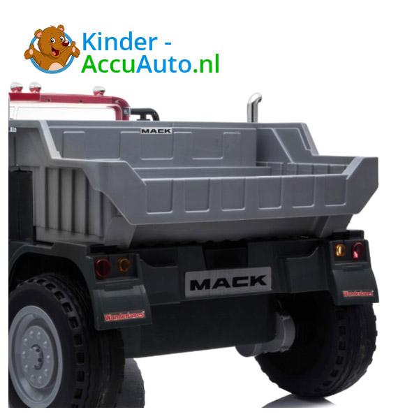 Mack Granite Zwart Kinder Vrachtwagen 7