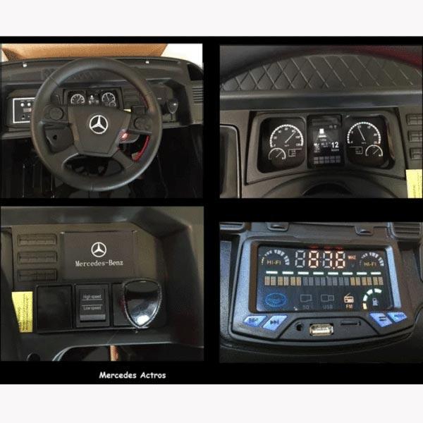 Mercedes Actros Wit Kinder Vrachtwagen 10