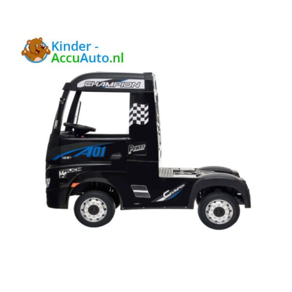 Mercedes Actros Zwart Kinder Vrachtwagen 4