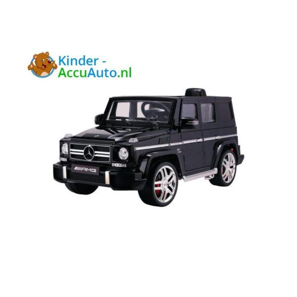 Mercedes G63 Zwart Kinderauto AMG 2-2
