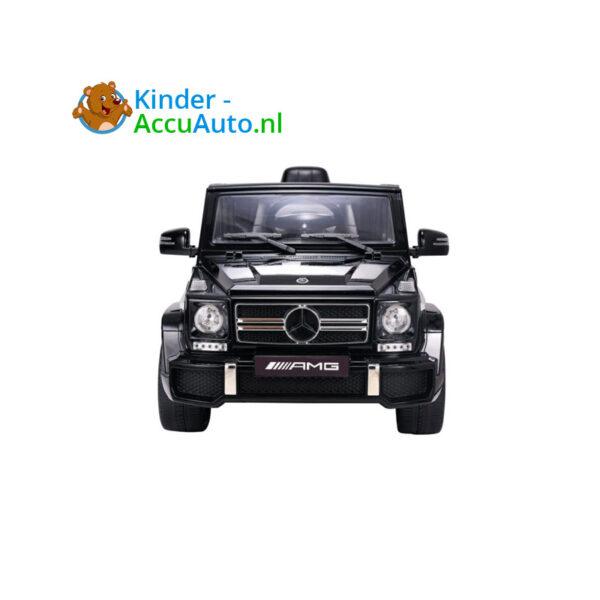 Mercedes G63 Zwart Kinderauto AMG 2-4