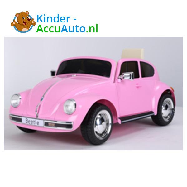 VW Beetle Roze Kinderauto 2