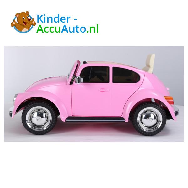 VW Beetle Roze Kinderauto 3