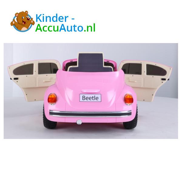 VW Beetle Roze Kinderauto 4