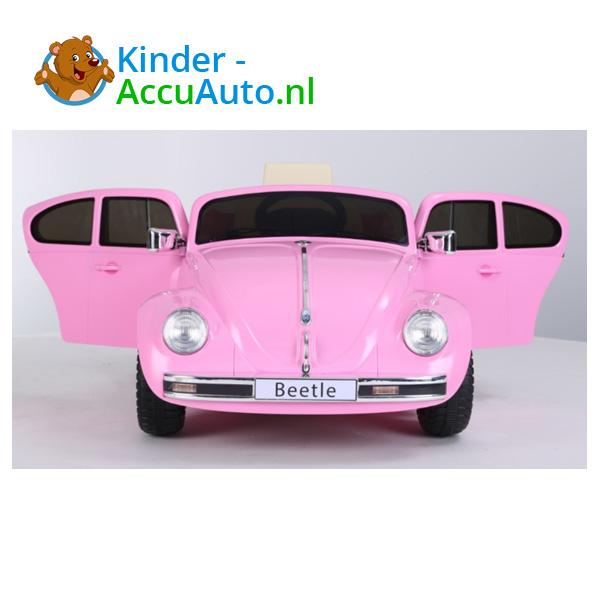 VW Beetle Roze Kinderauto 5