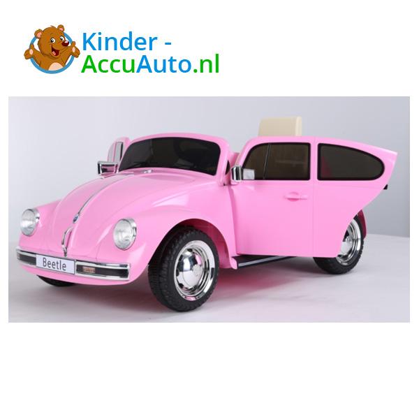 VW Beetle Roze Kinderauto 6