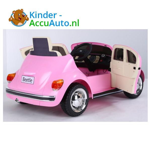 VW Beetle Roze Kinderauto 7