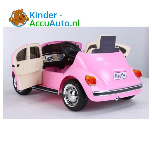 VW Beetle Roze Kinderauto 8