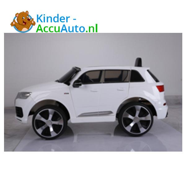 Audi Q7 sline Wit Kinderauto 6